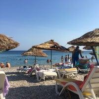 Photo taken at Tuna Beach by Müjde Ş. on 8/22/2017