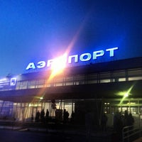 Photo taken at Bolshoye Savino International Airport (PEE) by Ivan E. on 5/22/2013