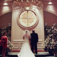 Photo taken at The Chapel at Excalibur by Robert B. on 5/10/2013