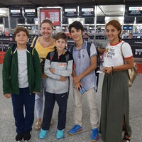 Photo taken at Gate 217 by Selin G. on 8/17/2017