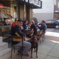 Photo taken at Sam's Bagels by Vicki M. on 9/30/2012