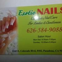 Photo taken at Exotic Nails by Chana Ladybug F. on 6/25/2013