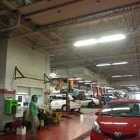 Photo taken at Jack Taylor Toyota Scion by Coskun U. on 5/15/2013