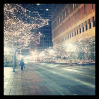 Photo taken at 4th and Nicollet Mall Bus Stop by Nicole G. on 1/5/2013