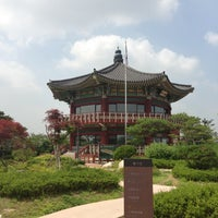 Photo taken at Bukak Palgakjeong by Yi C. on 7/1/2013