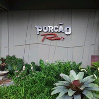 Photo taken at Porcão Rio's by Daniel C. on 11/16/2012