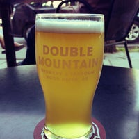 Photo taken at Double Mountain Brewery & Taproom by Parke L. on 5/21/2013