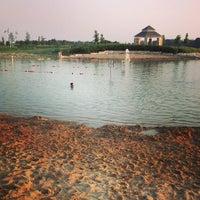 Photo taken at Three Oaks Recreation Area by Derek K. on 7/6/2013