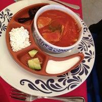Photo taken at Fonda Mexicana by Diana S. on 9/16/2013