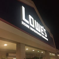 Photo taken at Lowe's Home Improvement by Daniel B. on 10/8/2017