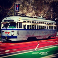 Photo taken at F Street Car Muni Stop - Don Chee Way by Mark E S. on 9/24/2016