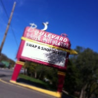 Photo taken at Boulevard Drive-In Theatre by Mark E S. on 10/20/2012