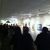Photo taken at Sunnyvale Art Gallery and Cafe by Mark E S. on 1/17/2013
