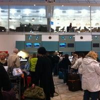Photo taken at Gothenburg Landvetter Airport (GOT) by Theréze Z. on 3/11/2013