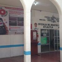 Photo taken at Oficialia del Registro Civil No. 01 de Atlautla. by Dario C. on 3/7/2014
