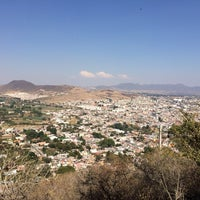 Photo taken at Capilla del Cerro de San Miguel by Pedro G. on 2/2/2014