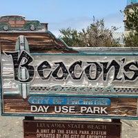 Photo taken at Beacon's Beach by David S. on 6/17/2013