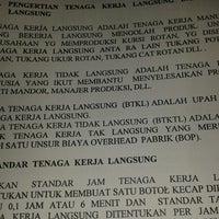Photo taken at STIE Kusuma Negara, Yasma PB Soedirman by Zharra Z. on 5/7/2013