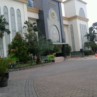 Photo taken at Masjid Agung AL-BARKAH Bekasi ® by Tata J. on 10/14/2013