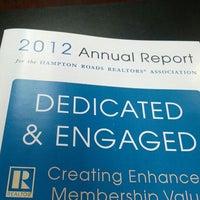 Photo taken at Hampton Roads Realtors Association by Paul M. on 12/20/2012