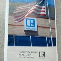 Photo taken at Hampton Roads Realtors Association by Paul M. on 10/18/2013
