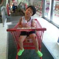 Photo taken at LOTTE Mart by Edward Dong Yoon S. on 7/28/2013