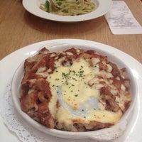 Photo taken at Italian Tomato Café Jr. by Pearl W. on 11/12/2013