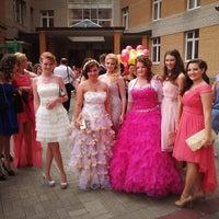 Photo taken at Гимназия № 587 (старшие классы) by Александра Т. on 6/21/2013