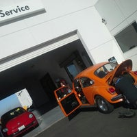 Photo taken at Tracy VW by Geoffrey G. on 12/21/2013
