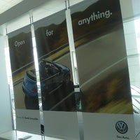 Photo taken at Tracy VW by Geoffrey G. on 5/28/2013