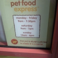 Photo taken at Pet Food Express by Geoffrey G. on 11/24/2013