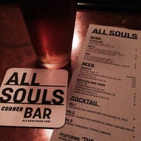 Photo taken at All Souls Bar by Horus A. on 12/10/2013