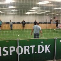 Photo taken at Fodboldfabrikken by Leivur C. on 8/23/2013