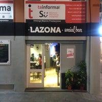 Photo taken at La Zona Social Bar by Gabi S. on 6/5/2014