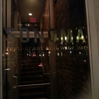 Photo taken at Sonoma Restaurant and Wine Bar by Shane T. on 12/17/2012