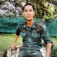 Photo taken at หน่วยฝึกนักศึกษาวิชาทหาร  มทบ.21 by Naruethep U. on 8/21/2013