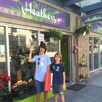 Photo taken at Heather's The Flowershop by Marie S. on 8/18/2016