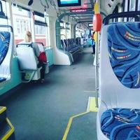 Photo taken at Трамвай №100 by Tat`yana M. on 9/7/2015
