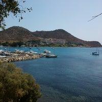Photo taken at Parıltı Beach by Nurhan G. on 8/22/2013