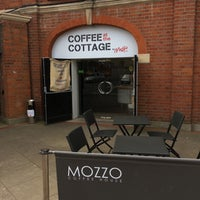 Photo taken at The Cafè At Craven Cottage by Mervyn D. on 4/15/2017