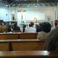 Photo taken at Santa Rita by victor hugo r. on 2/10/2013