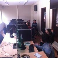 Photo taken at Sala de Prensa Universidad Jorge Tadeo Lozano by Juance M. on 8/26/2013