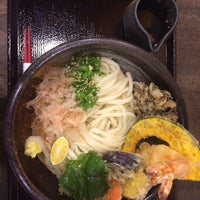 Photo taken at うどん AGATA (縣) by miiitsu3 on 3/30/2014