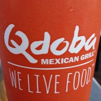 Photo taken at Qdoba Mexican Grill by Tim L. on 1/25/2014