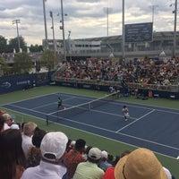 Photo taken at Court 7 - USTA Billie Jean King National Tennis Center by Jordan B. on 8/25/2017
