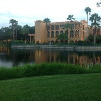 Photo taken at Disney's Coronado Springs Resort by Evelyn Elizabeth I. on 7/26/2013