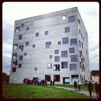 Photo taken at Folkwang-Universität - SANAA-Gebäude by Eric E. on 11/10/2012