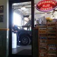 Photo taken at Silver Bay Express Lube by Tom H. on 4/2/2015