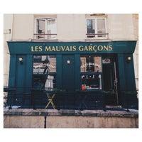 Photo taken at Les Mauvais Garçons by Dimitri J. on 6/6/2014