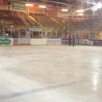 Photo taken at Ice Arena Wales by Richard C. on 5/9/2013